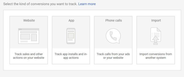 select google ads call tracking